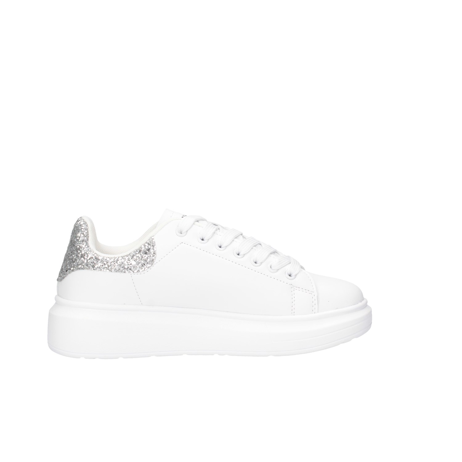 Shop Art Donna 20555 S Bianco//argento Sneakers Autunno//Inverno