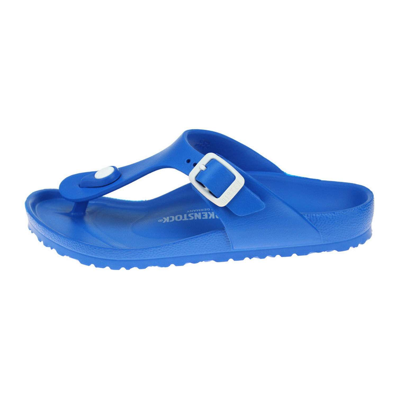 ... Birkenstock 1003520 GIZEH EVA Blu Scarpe Bambino ... f012f759749