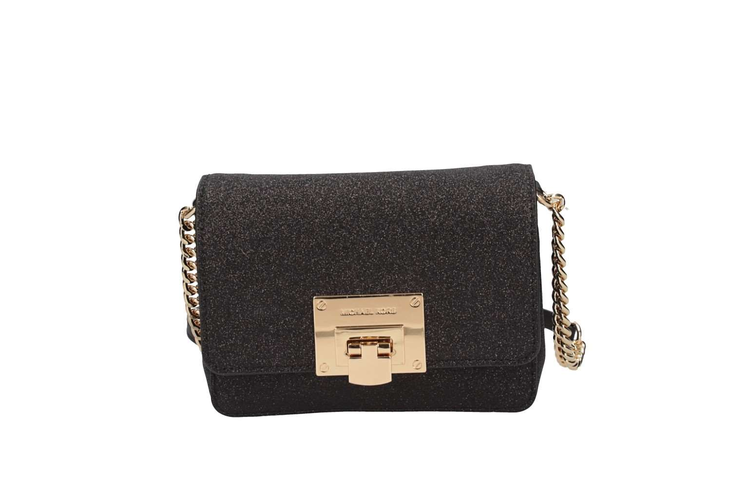 Borsa A Tracolla Donna Michael Kors 35H7GT4C10 BLACK Autunno Inverno ... a7d2acee657