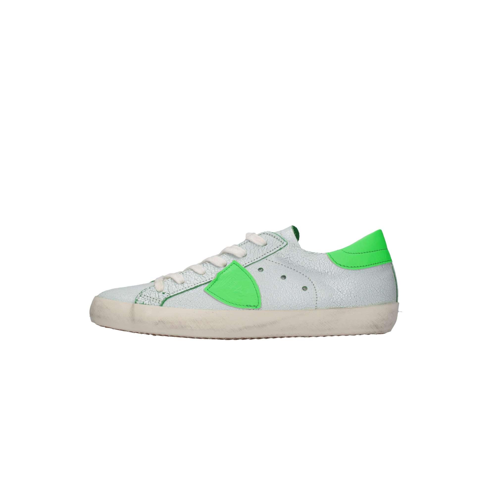 ... Philippe Model CLL0-R02C Bianco verde Scarpe Bambino ... 7aa58e08e3a