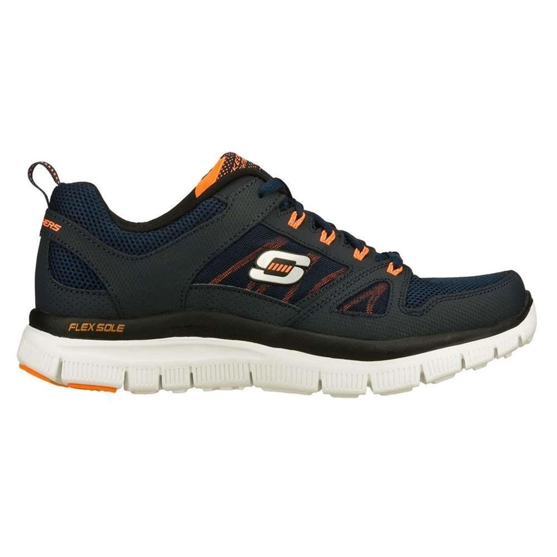 Uomo Sneakers Skechers 51251S FLEX ADVANTAGE Blu,scarpe