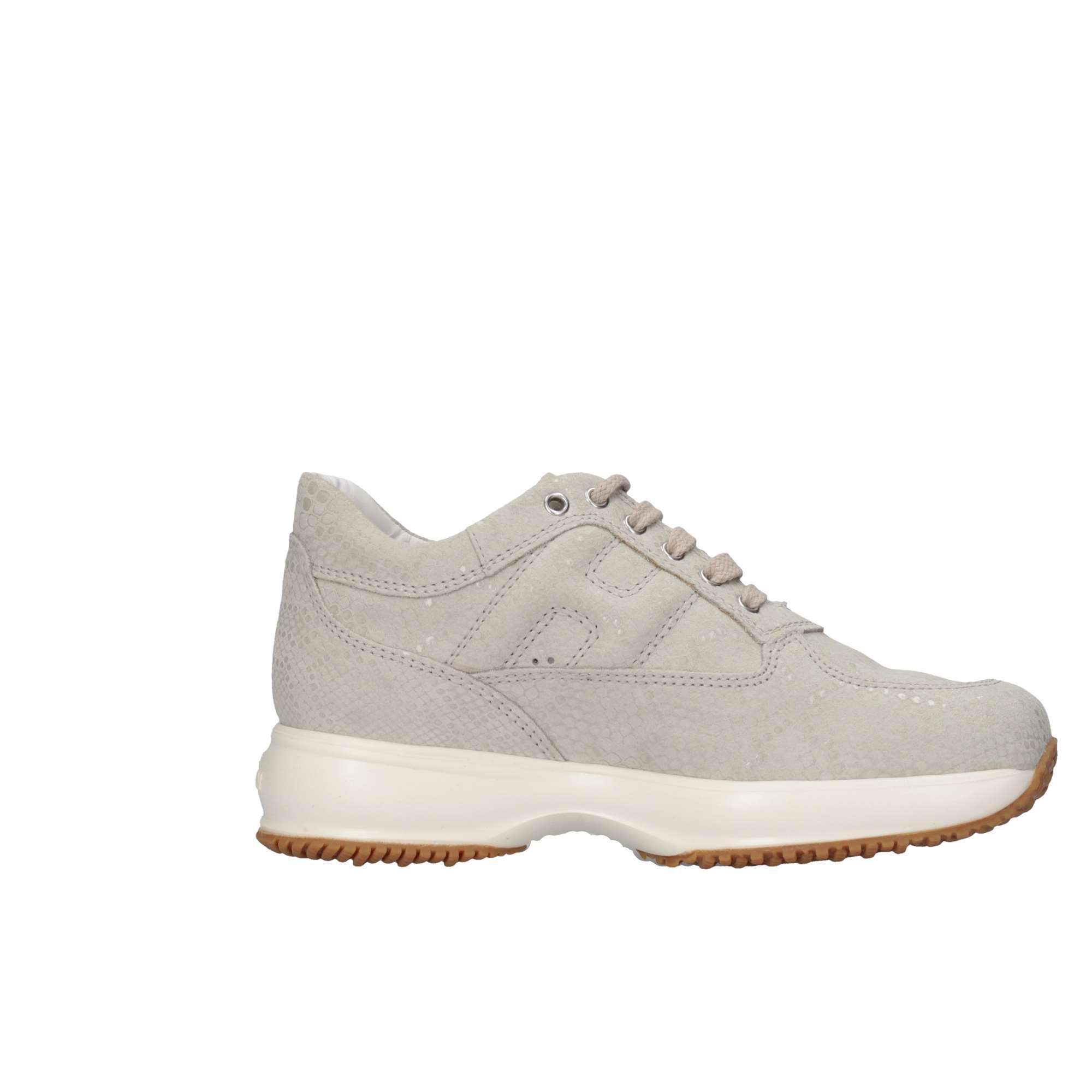 sneaker donna HOGAN INTERACTIVE scarpa double pois ghiaccio