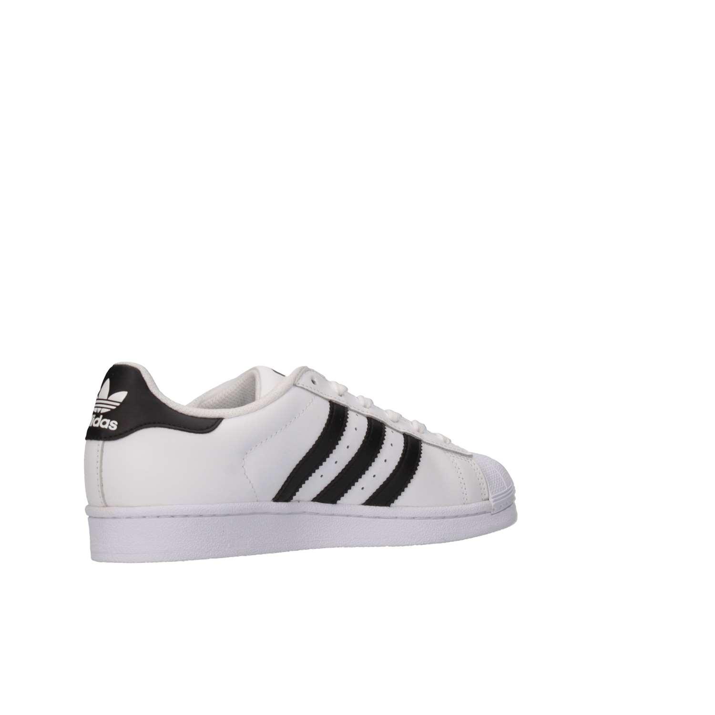 adidas superstar j c77154 bambini scarpe invernali nero bianco