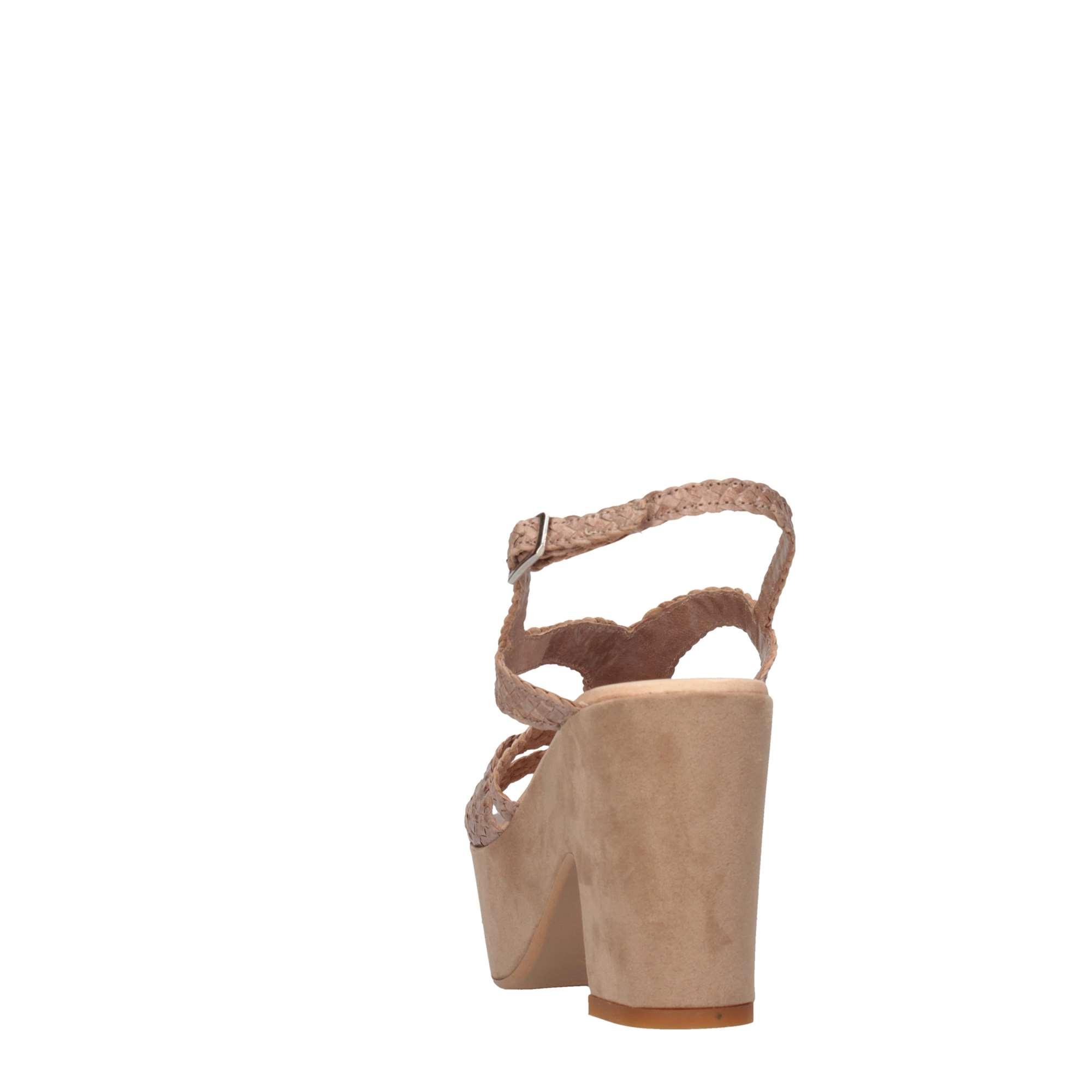 Sandalo-Donna-David-Haron-TRECCIA-4-F4C-BEIGE-Primavera-Estate