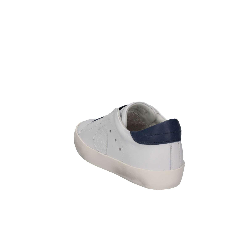 Philippe Model BML0-V01A Bianco blu Sneakers Bambino Primavera ... ecc84017cbc