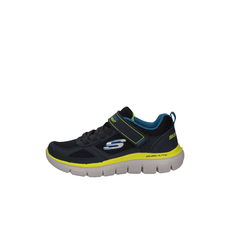Skechers Flex Advantage Scarpe Sneaker Bambino Blu 97451L-NVLM pPJ8zbU4