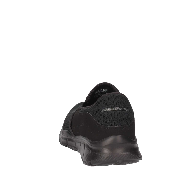 51361 estate Nero bbk Skechers On Primavera Uomo Slip RxqgnH7wd