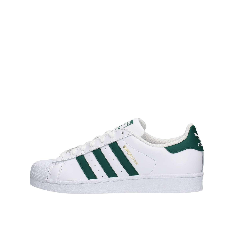 ... Adidas ADICM8081 Bianco/verde Scarpe Uomo ...
