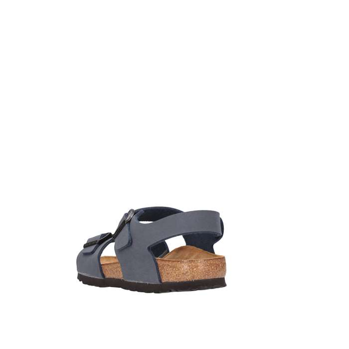 Birkenstock 087773 NEW YORK DONN Blue Shoes Woman