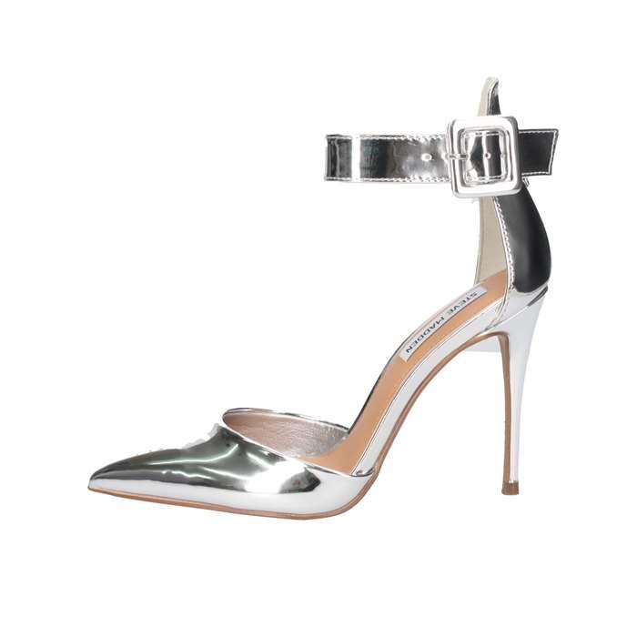 Steve Madden SMSRITZY-Silver Sandalo Donna Argento 38,5